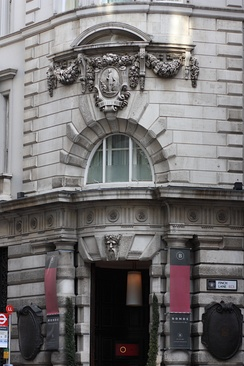 Former Threadneedle Street head office of The City Bank, which became London, City & Midland Bank