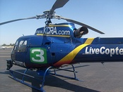 KCRA's Live Copter 3 at Executive Airport.