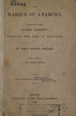"1842 title page, with added poems ""Queen Liberty"" and ""Song-To the Men of England"", J. Watson, London."
