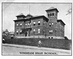 Windham High School located in Willimantic, Connecticut