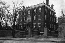 John Brown House photographed in 1918.