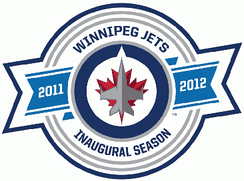 Patch worn during the 2011–12 season, the team's inaugural season in Winnipeg.