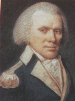 William Few in the uniform of a Continental Army colonel