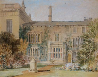 Farnley Hall as depicted by J.M.W. Turner in 1815