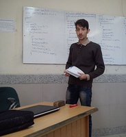 An Iranian young associate professor, teaching C language programming and microcontrollers in Mohajer Technical And Vocational College of Isfahan.
