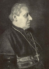 His friend Cardinal Rampolla at age 70 shortly before his death