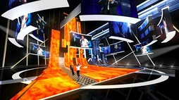 The stage design of the contest