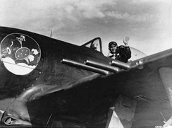 Brazilian P-47 pilot during World War II