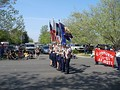 The JROTC at the Bok Kai Parade
