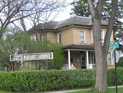 Author Margaret Laurence's home in Neepawa