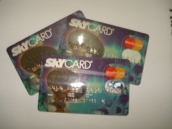 SkyCard, the first cable TV branded credit card in the Philippines.