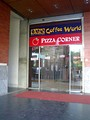 A co-branded Coffee World Pizza Corner outlet on Road 4A