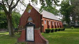 Grace Wesleyan Methodist Church is a parish church of the Allegheny Wesleyan Methodist Connection, one of the largest denominations in the conservative holiness movement, and is located in Akron, Ohio.