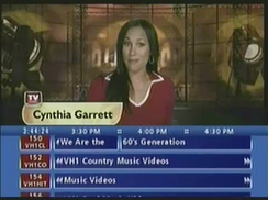 TV Guide Channel with its second blue grid (2003-2004).