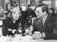 Farrell and Barton MacLane in Torchy Runs for Mayor (1939)