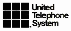 United Telephone System logo until 1987