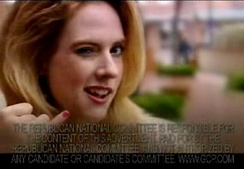 """Harold, call me,"" says a blonde woman in RNC's controversial attack ad against Ford."