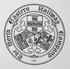 The seal of the North Eastern Railway