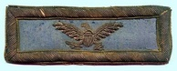 A shoulder strap from an infantry colonel in the Union Army