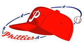 The Phillies logo during their 1950 World Series year.