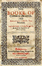 Laud's abortive 1637 Prayer book.