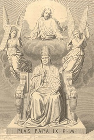 A hagiographic presentation of Pius IX from 1873