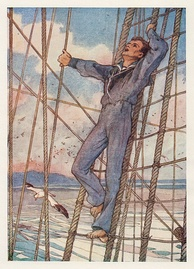 Frontispiece to The Pinafore Picture Book, 1908