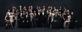The cast photo of The Young and the Restless, taken in celebration of the soap's 11,000th episode (2016). Front row (l-r): Hunter King, Miles Gaston Villanueva, Melissa Ordway, Sean Carrigan, Mishael Morgan, Bryton James, Amelia Heinle, Jason Thompson, Eileen Davidson, Gina Tognoni, Peter Bergman, Eric Braeden, Melody Thomas Scott, Steve Burton, Sharon Case, Joshua Morrow, Justin Hartley, Melissa Claire Egan, Jess Walton, Tristan Rogers, Christel Khalil and Daniel Goddard Second row: Robert Adamson, Sofia Pernas, Michael E. Knight, Beth Maitland, Tracey E. Bregman, Christian LeBlanc, Doug Davidson, Lauralee Bell, Kristoff St. John, Camryn Grimes, Greg Rikaart, Mara McCaffray, Catherine Bach and Kate Linder