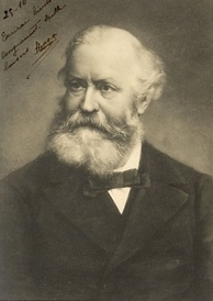 Charles Gounod, depicted here in later life, was a mentor and inspiration to Bizet in the latter's Conservatoire years.