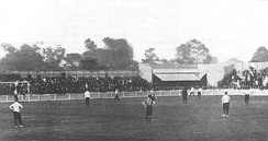 First game at White Hart Lane, Spurs vs Notts County for the official opening on 4 September 1899