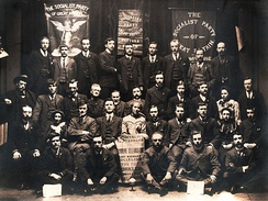 Delegates to the First Annual Conference of the SPGB in 1905