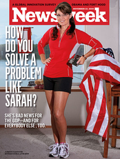 Controversial Newsweek cover, November 23, 2009, issue