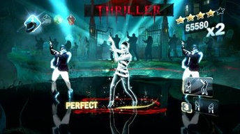 The Kinect version of the game includes full body motion technology and judges on how well the moves are done.
