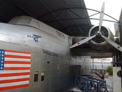 Full-size replica of a Boeing 314 at the Foynes Flying Boat Museum, County Limerick, Ireland