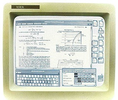 Compound document displayed on Xerox 8010 Star system