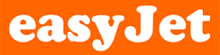 The easyJet logo showing the EasyGroup's standard typeface and colour