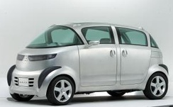 The 2003 Mitsubishi Se-Ro concept, which introduced the 660 cc engine used in the production version of the i.