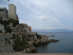 The view of Antibes