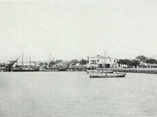 The port of Tuticorin