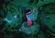 Björk in the surreal video for Bachelorette directed by Michel Gondry