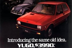 Ad for Yugo in the U.S. market