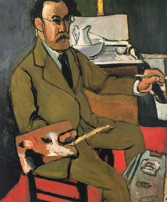 Self-portrait, 1918, Matisse Museum (Le Cateau)
