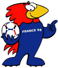 Footix, the official mascot of the tournament