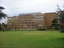 The University Library on the Whiteknights Campus