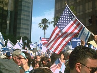 Israel Solidarity Rally in Los Angeles