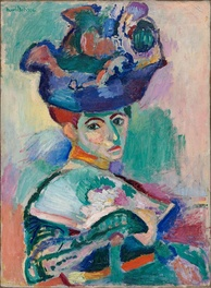 Woman with a Hat, 1905. San Francisco Museum of Modern Art