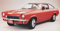 1971 Vega hatchback coupe