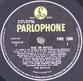 With the Beatles (side 1) – Parlophone yellow and black label
