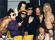 Dread Zeppelin with Michael Hutchence of INXS