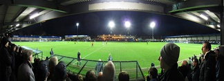 Ewen Fields the home of Hyde United F.C.